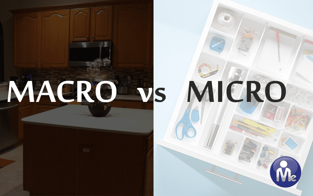 Macro and Micro Organizing – What You Need To Know