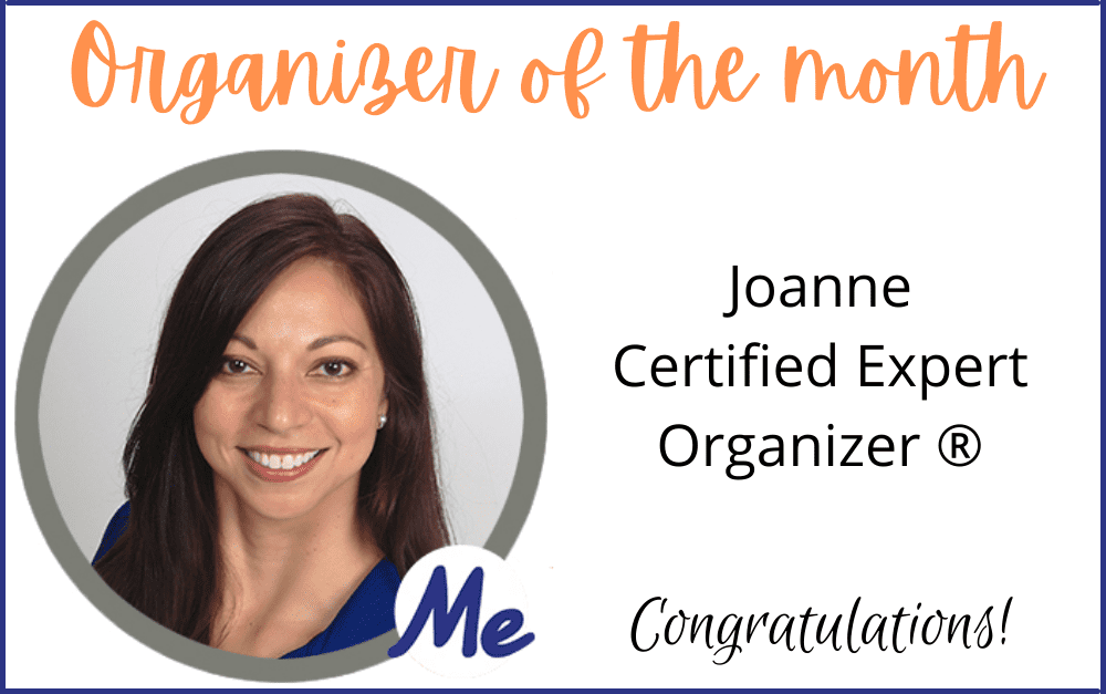 Organizer of the Month: Joanne